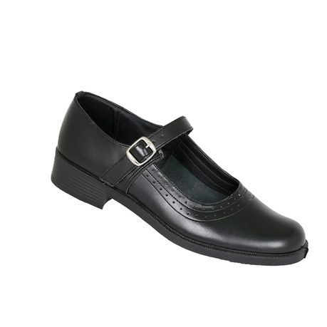 best selling professional sale affordable price Toughees Pearl Girls Basic Buckle School Shoes - Black | Buy ...