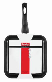 Prestige - 24 x 24cm Die Cast Grill Pan - Black