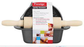 Prestige - 3 Piece Mini Bakeware Set - Black