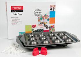 Prestige - 12 Cup Cake Pops Bake Kit - Black