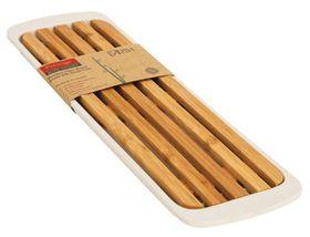 Prestige - Bamboo Cutting Board with Tray - Brown