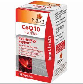 Nativa CoQ10 Complex Capsules - 30s