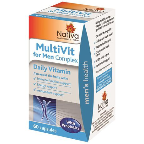 Nativa Multivitamin for Men Capsules - 60s