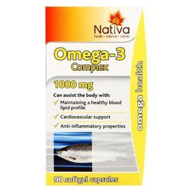 Nativa Omega 3 Capsules - 90s