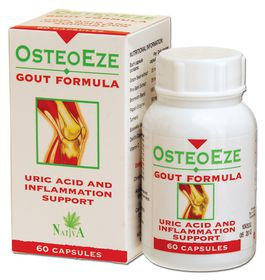 OsteoEze Gout Capsules - 60s