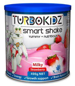 TurboKidz Milk Shake Strawberry - 400g