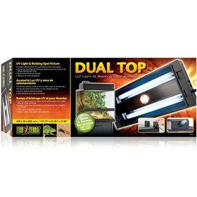 Exo-Terra -  Dual Terrarium Light Canopy - For PT-2605 & PT-2607