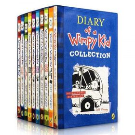 Diary of a Wimpy Kid 10 Book Set (Parallel Import)