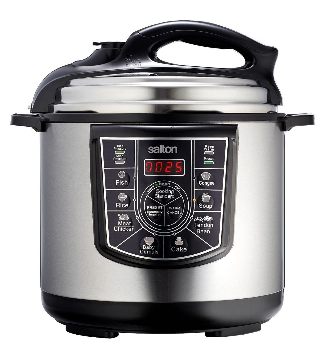 electric pressure cooker salton 6 litre electric pressure cooker buy in 31524