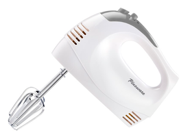 Pineware 150 Watt Hand Mixer With Storage Case - White