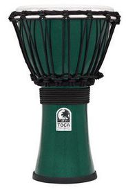 "Toca 7"" ColourSound Djembe - Green"