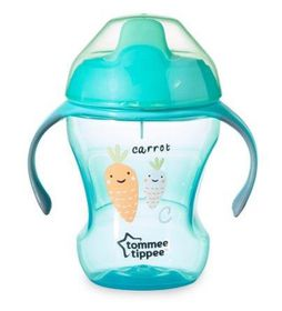 Tommee Tippee - 230ml Easy Drink Cup - Carrot