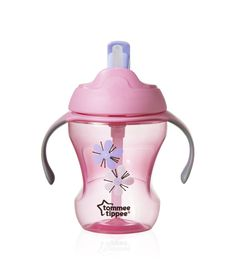 Tommee Tippee - 230ml Easy Straw Cup - Flowers