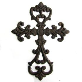 Pamper Hamper - Cast Iron Cross - Fleur De Lis