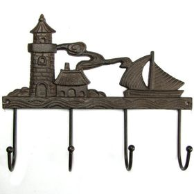 Pamper Hamper - Cast Iron Lighthouse - 4 Hook