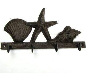 Pamper Hamper - Cast Iron Shell Starfish Hook