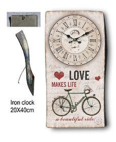 Pamper Hamper - Metal Clock - Beautiful Ride