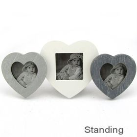 Pamper Hamper - Photo Frame - 3 Heart Collaged