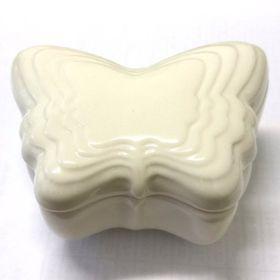 Pamper Hamper - Ceramic Butterfly Trinket Bo x