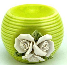 Pamper Hamper - Ceramic Oil Burner - Green