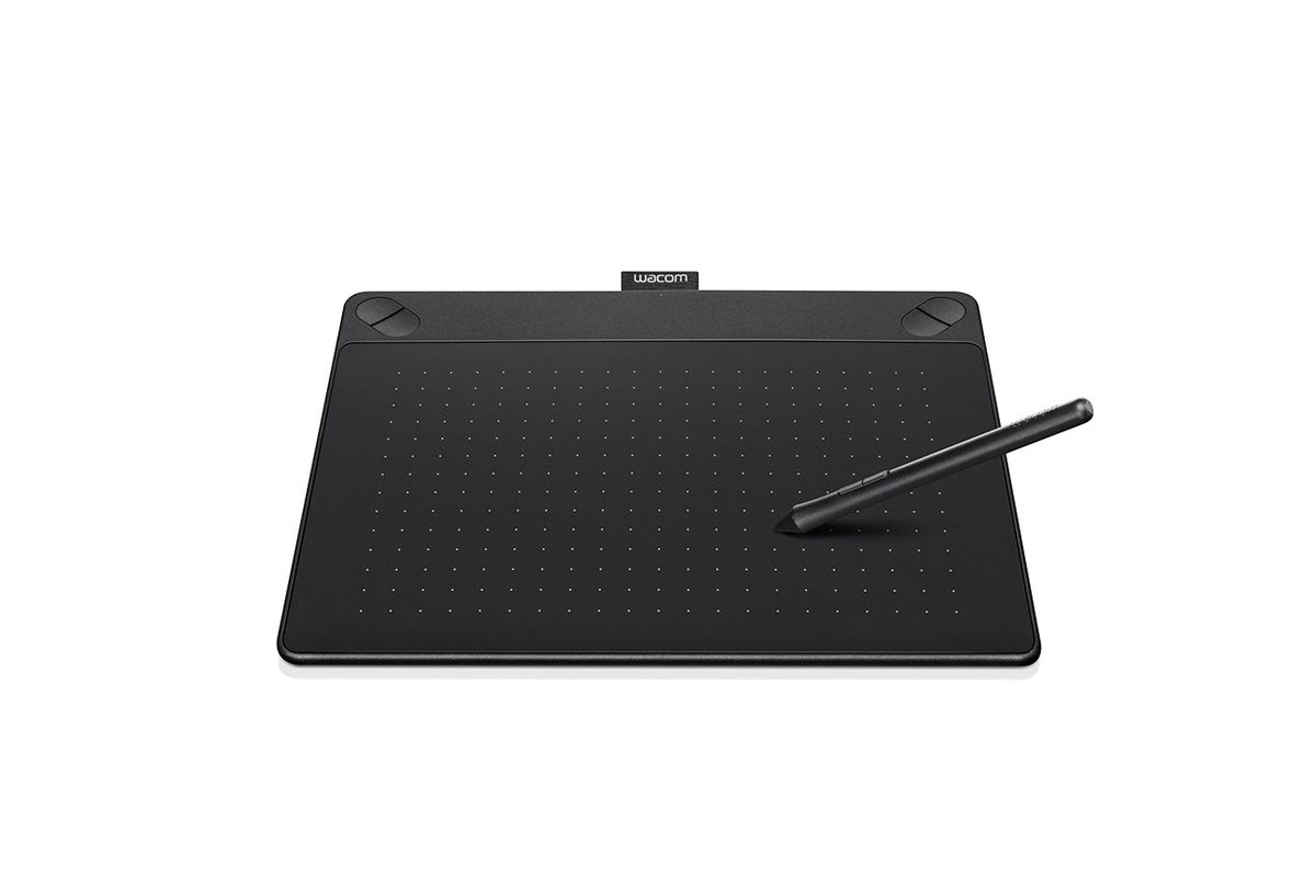 Wacom Intuos Art Pen and Touch Tablet, Medium Black #CTH690AK