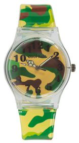 Cool Kids Funky Slim Army - Yellow & Green