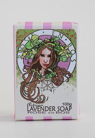 Rose N Bos Lavender Soap Bar
