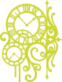 Kaisercraft Cutting Dies - Vintage Clock