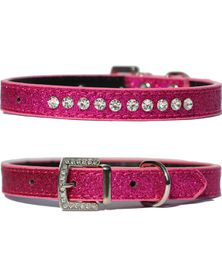 Doggie Hillfigher - Candy Cerise Collar - Small