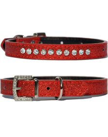 Doggie Hillfigher - Candy Strawberry Collar - Small