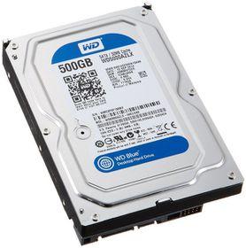 """WD Blue 500GB 3.5"""" SATA 6Gb/s 32MB Internal Hard Drive"""