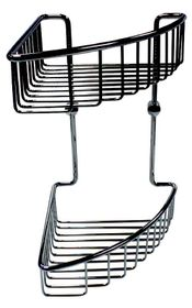 Wildberry - Double Layer Basket - Stainless Steel