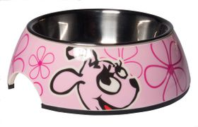 Rogz - Pupz 350ml Bubble Bowl - Pink Roxi