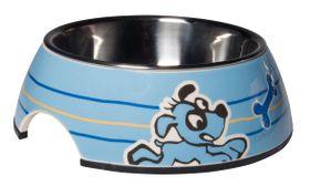 Rogz - Pupz 350ml Bubble Bowl - Blue Ringo