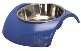 Rogz - 2-in-1 350ml Luna Dog Bowl - Blue