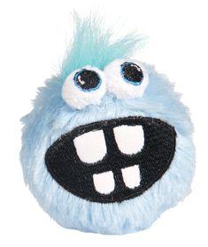 Rogz - Pupz Grinz Blue Ringo Squeak Toy - Small