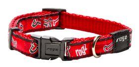 Rogz - Fancy Dress 11mm Dog Collar - Red Bone