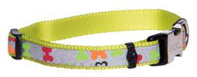 Rogz Lapz Trendy Multi Bones Side Release Dog Collar - Small
