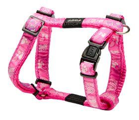 Rogz - Fancy Dress Dog H-Harness - Pink Paws