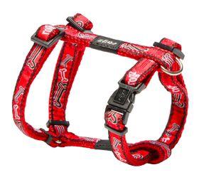 Rogz - Fancy Dress Dog H-Harness - Red Bone