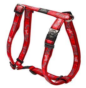 Rogz Fancy Dress Red Rogz Bone Dog H-Harness - Extra Large