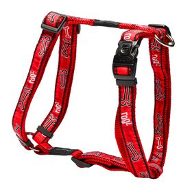 Rogz - Fancy Dress 20mm Dog H-Harness - Red Bone