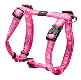 Rogz - Fancy Dress Pink Paws Dog H-Harness - Medium