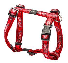 Rogz - Fancy Dress Red Rogz Bone Dog H-Harness - Medium