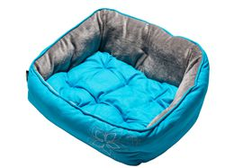Rogz - Dog Bed 430mm x 300mm 185mm - Blue Floral