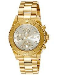 Invicta Men's 1774 Pro-Diver Collection 18k Gold Ion-Plated Stainless Steel Watch (parallel import)