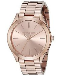 27d66b7061a6 Michael Kors Women s Runway Rose Gold-Tone Watch MK3197 (parallel import)