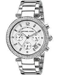 Michael Kors Women's Parker Silver-Tone Watch MK5353 (parallel import)