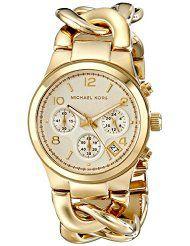 Michael Kors Women's Runway Gold-Tone Watch MK3131 (parallel import)