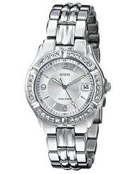 GUESS Women's G75511M Mid-Size Sporty Chic Silver-Tone Watch (parallel import)